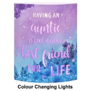 Light Up Starlight Lantern 'Having An Auntie Is Like Having A Best Friend For Life....